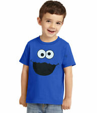 Sesame Street Cookie Monster Face Toddler T-Shirt New