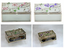 Personalised Trinket Box Gift/Present For Girls/18th/21st/30th/40th Birthday