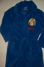 FIREMAN SAM BATH ROBE U.S. SELLER NEW HTF  3/4 4/5 5/6 NEW
