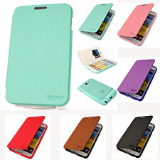 SAMSUNG Galaxy Note 2 N7100 & Note N7000 i9200 i717 Leather Flip Case Skin Cover