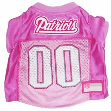 New England Patriots NFL Licensed Pink Dog Football Jersey