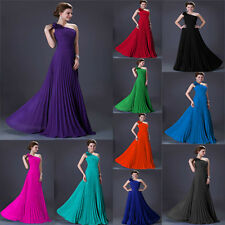 Cheap Long Formal Prom Gown Bridesmaid Evening Party Dress Size 6 8 10 12 14 16
