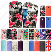 FOR SAMSUNG GALAXY S4 MINI i9190 NEW HOT PRINTED MAGNETIC FLIP CASE COVER+STYLUS