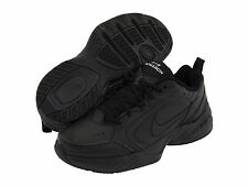 NEW! MENS NIKE AIR MONARCH IV RUNNING TRAINING SHOES BLACK MEDIUM WIDTH SIZE