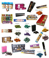 G56- 100+ Incense Sticks or Cones Joblots - Mixed Set to Choose Home Scent