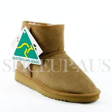 Australian Made Classic Ultra Short Ugg Boots Premium Sheepskin Chestnut Brown