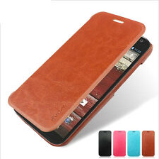 Luxury PU LEATHER FLIP HARD COVER Case FOR  Motorola Moto X PHONE XT1055