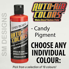 Auto Air Candy Custom Airbrush Paint 120ml All Colours Water Based Multi Surface