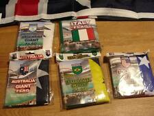 """GIANT COUNTRY FLAG FOOTBALL LARGE 60"""" X 35"""" NEW BNIP"""
