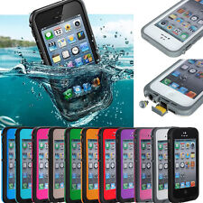 Waterproof Dirtproof Shockproof Snowproof Fire Case Cover For iPhone 4 4S or 5