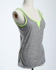 Lorna Jane Cara Tank Sports Yogo Singlet Top All Sizes Smokey Grey Marl