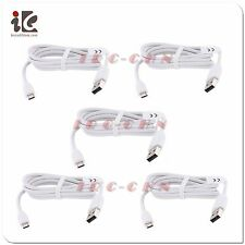 5X Micro USB Data Cable For HTC ThunderBolt Amaze 4G Vivid One X S V