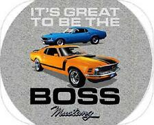 FORD BOSS MUSTANG T-SHIRT 1969,1970 IT'S GREAT TO BE THE BOSS 20.99+2XL FS NEW