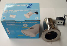 Aurora A2-DLM924 Mains Voltage Fire Rated Downlight Low Energy Lamps Only