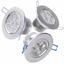 Downlight 9W 15W 18W LED Ceiling Light Fixture Warm Cool White Lamp Kit Recessed