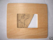 Wooden Shape Frame. Pack of 2 or 4 Wood Embellishment blank plaques