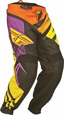 Fly Racing Purple/Yellow/Black F-16 Jersey & Pant Combo Sizes MX/ATV 2014 Gear