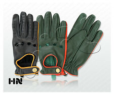 LADIES DRIVING GLOVES SLIM FIT SOFT GENUINE REAL LEATHER FASHION WINTER WOMENS