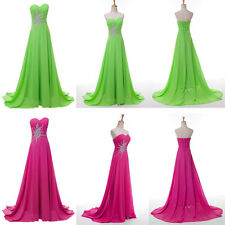 New Arrival Wrap Long Chiffon Prom Formal Long Evening Party Wedding Dress Gowns