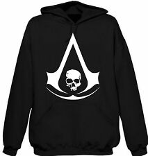 Assassin's Creed IV Unisex Hoodie Men's Women's  Video Games Wii U PS4 XBOX 360