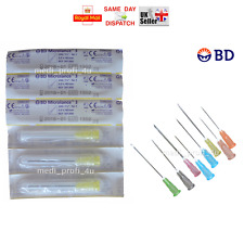 50x 100x BD Microlance Sterile Needle 20G Yellow 0.9 x 40 mm Refill Ink CHEAPEST