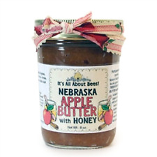 Natural Sweetened or Unsweetened Apple or Pumpkin Butter with Honey 8 oz