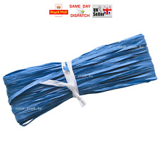 Raffia Paper Gifts Ribbon Decorating Scrapbooks ROYAL BLUE 2m 10m 20m 100m CHEAP