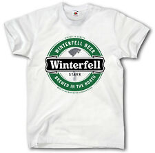 WINTERFELL BEER GAME OF THRONES  S-XXXL SHIRT WINTER IS COMING HOUSE STARK