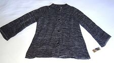 NWT JM COLLECTION CARDIGAN SWEATER LONG SLEEVE 4 BUTTON