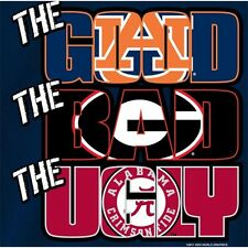 Auburn Tigers Football T-Shirts - The Good The Bad The Ugly - War Eagle