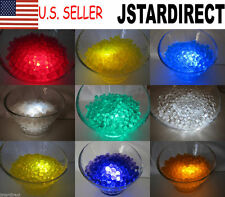 100g Water Pearl Bead + 15 LED Submersible Wedding Floralytes Centerpiece Vase