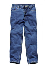 DICKIES STONEWASH JEANS TROUSERS  - CHOOSE SIZE & COLOUR WORK WEAR