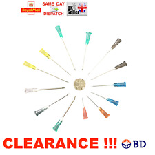 "50 100 x BD ""Microlance 3"" Sterile Needles Choice of Gauge Ink Refill CHEAPEST"