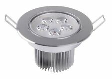 15W LED Ceiling Lamp Spot Light Recessed Chandelier Downlight Warm/Cool White