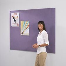 100% Recycled Eco-Friendly Frameless Pin-Board Noticeboard - 6 Sizes available