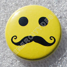 Q17 - Hipster Smiley Face - Mustache Smile, Humor, Hipster Culture Trends