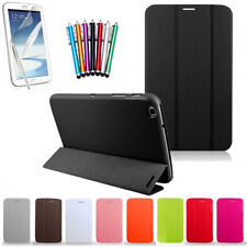 For Samsung Galaxy Tab 3 8.0 T 310 PU Leather 3 Folded Folding Stand Case Cover