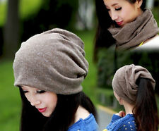 2013 New Womens Lady Autumn Winter Cotton Hats Caps Headbands Scarf Multiple Use