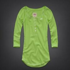 BRAND NEW GENUINE HOLLISTER BETTYS MONARCH BEACH HENLEY LG.UK SELLER. FAST DISP