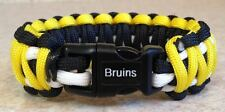 BOSTON BRUINS~NHL~3 Color 550 Paracord Bracelet~Lucic~Bergeron~Chara~L@@K!!!