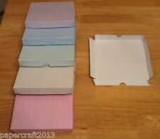 10 parchment  A5 greeting card gift boxes self assembly no glueing required 300g