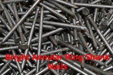 5 kg, BRIGHT ANNULAR RING SHANK NAIL PICK YOUR SIZE 5000g (FWS)