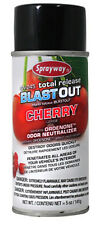 Sprayway Total Release Blast Out Odor Bomb Fogger w/ Ordenone Air Freshener
