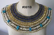 Egyptian Queen Cleopatra style Pharaoh's Necklace/Collar