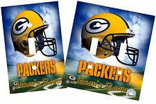 PERSONALIZED GREEN BAY PACKERS FOOTBALL LIGHT SWITCH PLATE COVER