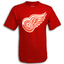 Detroit Red Wings YOUTH Red Winged Wheel T-shirt by Old Time Hockey