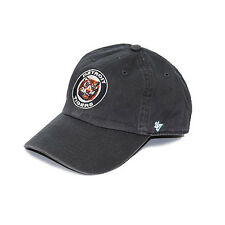 Detroit Tigers Navy Garment-Washed Classic Logo Fitted Cap