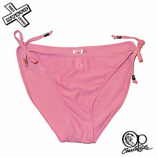 OP OCEAN PACIFIC 'TIE BRIEF' BIKINI BOTTOMS HOT PINK TIE SIDE 12 16 18 BNWT NEW