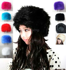 New Fashion Women's Faux Fox Fur Russian Cossack Style Hat Winter Cap Snow Hat