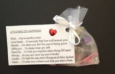 Little Bag Of Happiness Christmas Gift Birthday Wedding Favour Thank You Gift